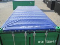 20 ft Open Top Container (20 ft Opentop container) - top view | jvcontainer.com - shipping containers, ISO containers at best price