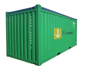 20 ft Open Top Container (20 ft Opentop container) - side view | jvcontainer.com - shipping containers, ISO containers at best price