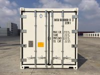 20 ft RF Container for buy / rent (20 ft refrigerated container) front view | jvcontainer.com - buy or rent shipping containers at best prices
