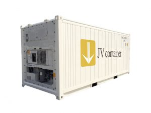 20 ft RF Container (20 ft refrigerated container) real view | jvcontainer.com - buy or rent shipping containers at best prices