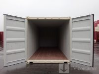20 ft DC Container for rent / sell (20 ft Dry Cube container, ISO container) open door view | jvcontainer.com