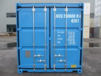 40 ft DC Container (40 ft Dry Cube container, ISO container) - front view   jvcontainer.com - shipping containers, ISO containers at best price