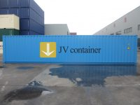 40 ft DC Container (40 ft Dry Cube container, ISO container) - side view | jvcontainer.com - shipping containers, ISO containers at best price