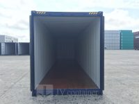 40 ft HC Container at best price (40 ft High Cube ISO container) inside view | jvcontainer.com - buy or rent shipping containers at best prices
