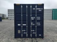 40 ft HC Container at best price (40 ft High Cube ISO container) front view | jvcontainer.com - buy or rent shipping containers at best prices
