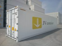 40 ft RF Container (40 ft refrigerated container) real view | jvcontainer.com - buy or rent shipping containers at best prices