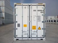 40 ft RF Container (40 ft refrigerated container) close door view   jvcontainer.com - shipping containers, ISO containers at best price
