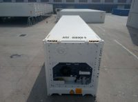 40 ft RF Container (40 ft refrigerated container) top view | jvcontainer.com - shipping containers, ISO containers at best price
