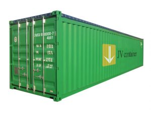 40 ft Open Top Container (40 ft OT container) - side view | jvcontainer.com - shipping containers and special containers at best price