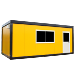 Office container - buy or rent containers at best price - side view | JVcontainer.com